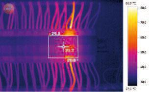 Тепловизор Testo 876. Для регулярных сервисных проверок электрооборудования