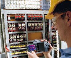 Тепловизор Testo 882. Для регулярных сервисных проверок электрооборудования