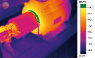 Тепловизор Testo 876. Помощь в проведении превентивного механического обслуживания