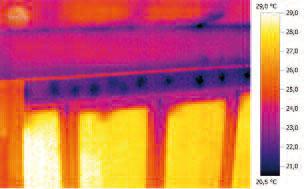Тепловизор Testo 876. Проведение анализа ограждающих конструкций и обеспечение консультации по энергоэффективности